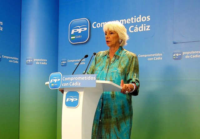 Teófila Martínez, diputada del PP por Cádiz