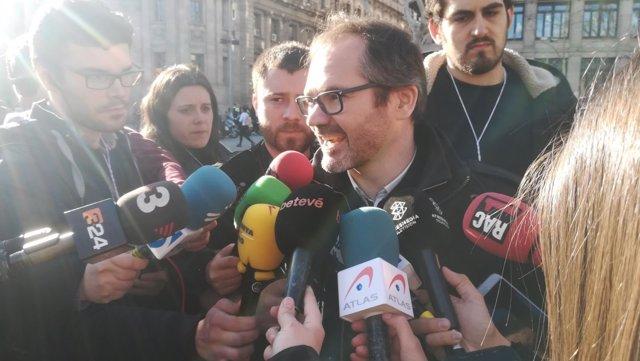 El vicepresidente de la Mesa del Parlament, Josep Costa (JxCat)