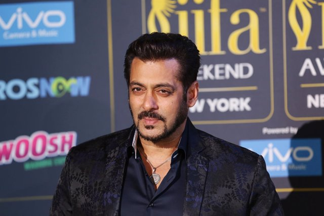 El actor de Bollywood Salman Jan