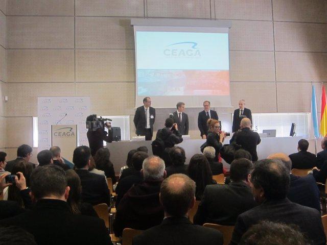Acto tras la asamblea de Ceaga. Abril 2018.