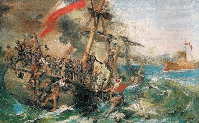 Batalla naval Guerra del Pacífico
