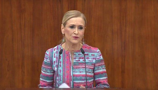 Cifuentes comparece en la Asamblea para hablar de su máster