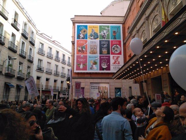 Paros por la fusión del Teatro Real y la Zarzuela