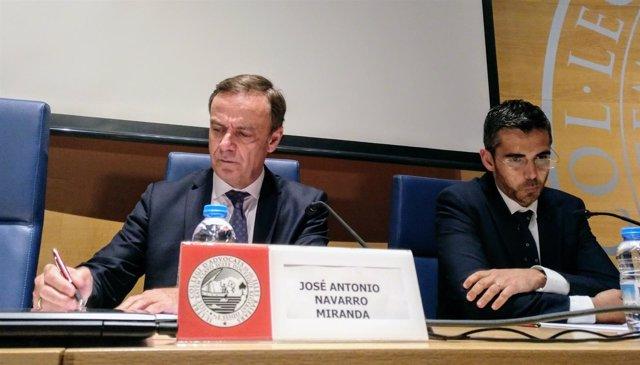 El Presidente De La Audiencia Nacional, José Ramón Navarro Miranda