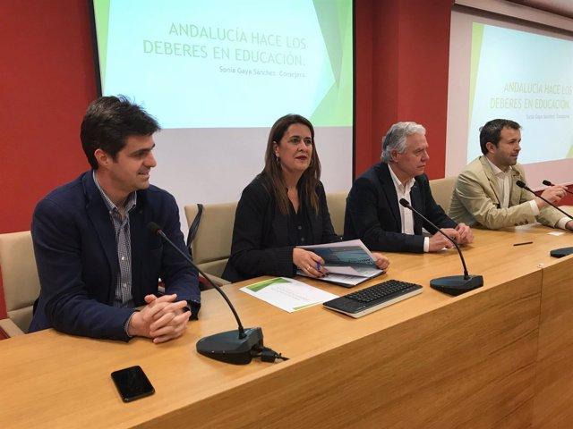 Charla-coloquio en Jaén sobre el presente y futuro de la educación pública