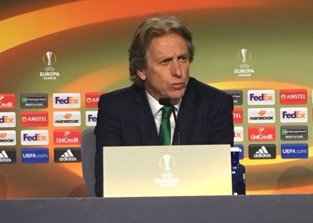 Jorge Jesus, técnico del Sporting