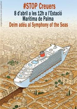 Manifestación crucero más grande del mundo