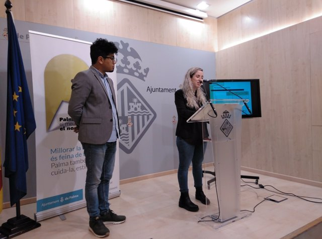 Aligi Molina y Lucia Segura