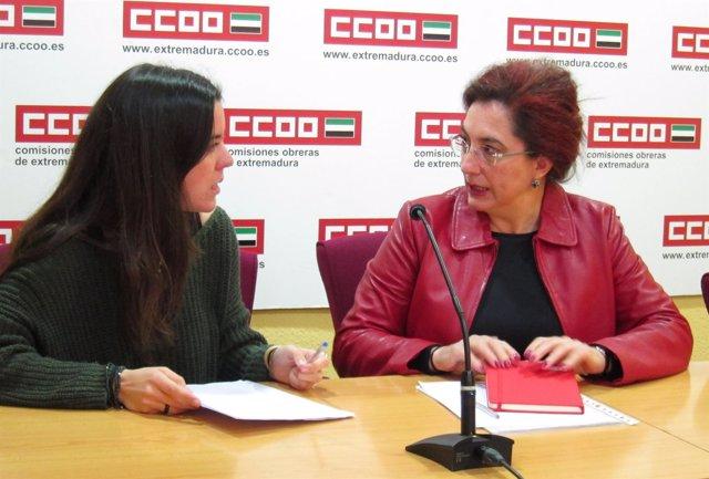 Inmaculada González y Ana Isabel González