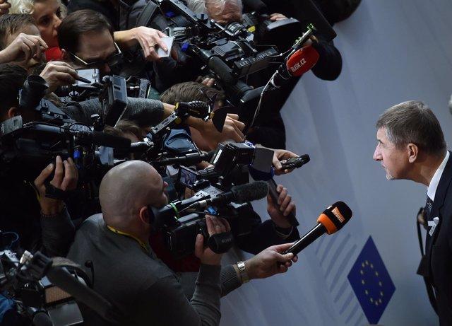 Foto de archivo del primer ministro checo, Andrej Babis.