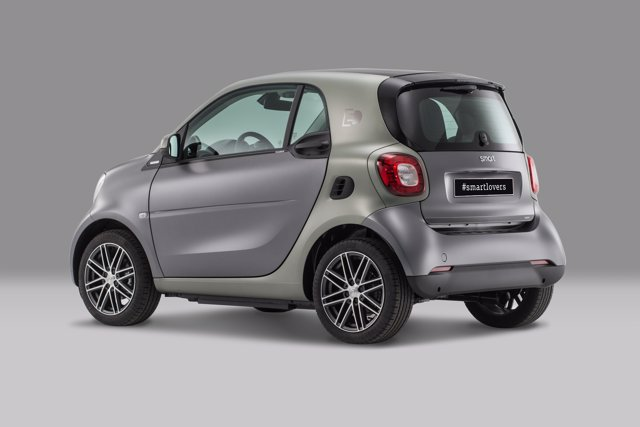 Smart fortwo electric Pull&Bear