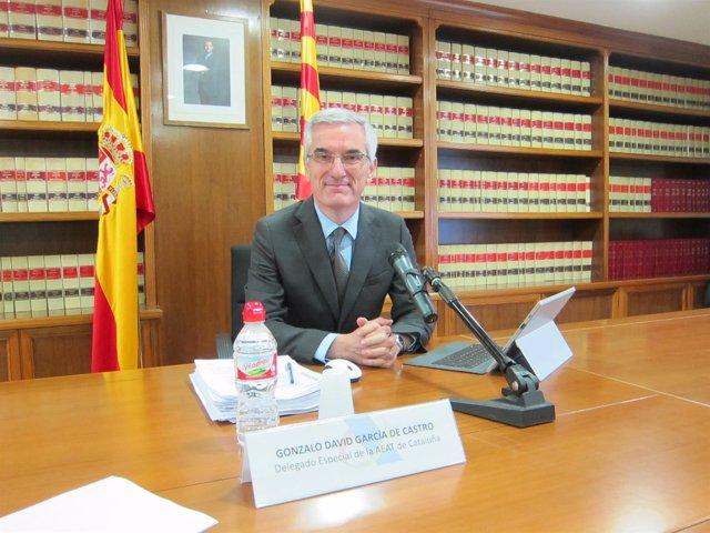 El delegado especial de la AEAT de Catalunya, Gonzalo David García de Castro