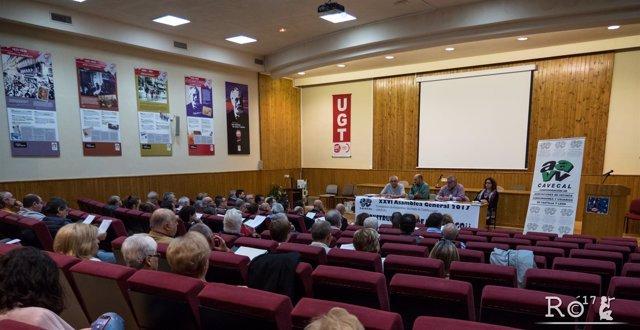 Asamblea de Cavecal en 2017.