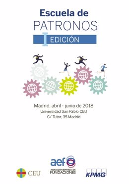 I Escuela de Patronos de España, impulsada por Asociación Española de Fundacione