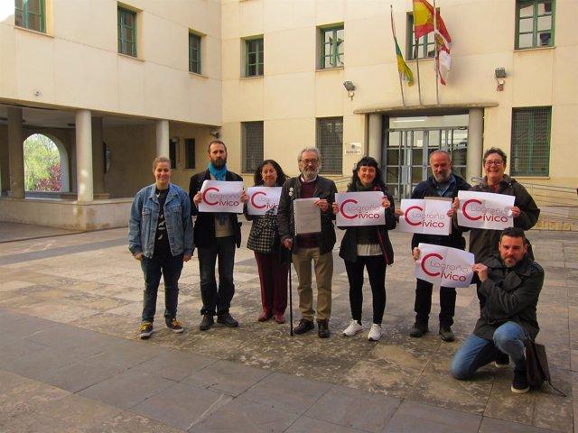 Logroño Cívico Frente A La Comisaría