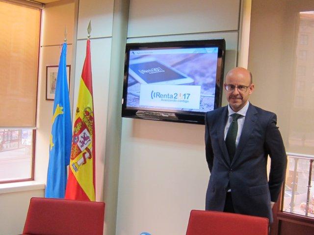 Delegado territorial de la Agencia Tributaria en Asturias, José Ignacio Rollán