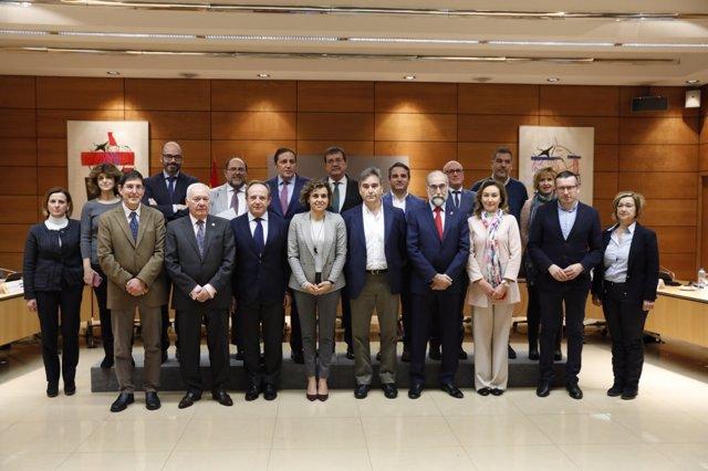 La ministra de Sanidad, Dolors Monserrat, asiste a la Conferencia de Enfermeras
