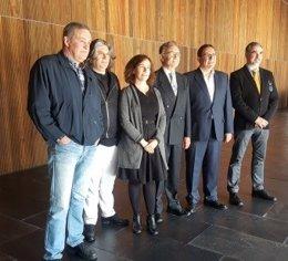Presentación del acuerdo entre Fundación Baluarte, AGAO y Ópera de Cámara