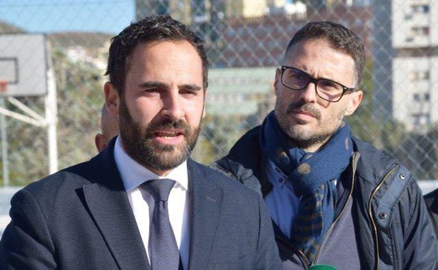 Daniel Pérez, portavoz del PSOE en el Ayuntamiento de Málaga