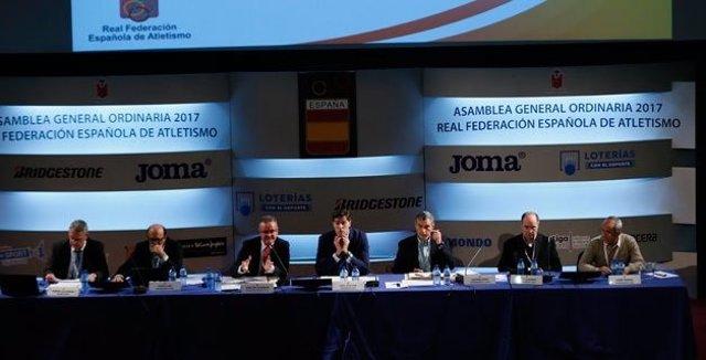 Asamblea Real Federación Española Atletismo RFEA
