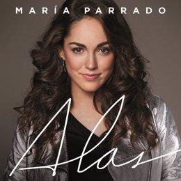 Portada del tercer disco de María Parrado, titulado 'Alas'