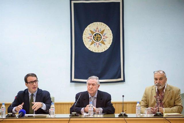 Fernando Giménez, nuevo diputado provincial, ha inaugurado las jornadas.