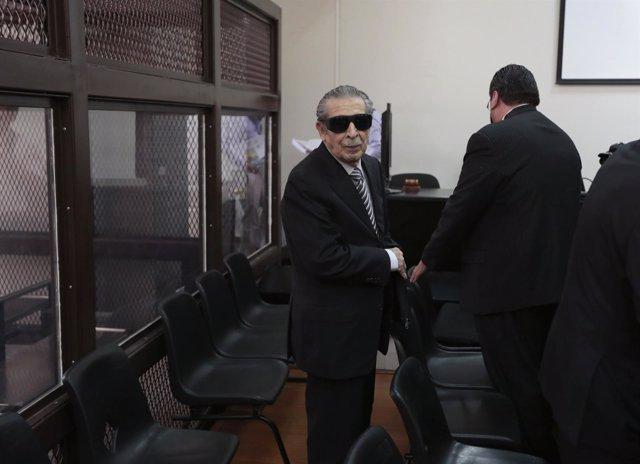 Efraín Ríos Montt, antiguo dictador de Guatemala