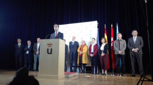 Rector de la URJC, Javier Ramos