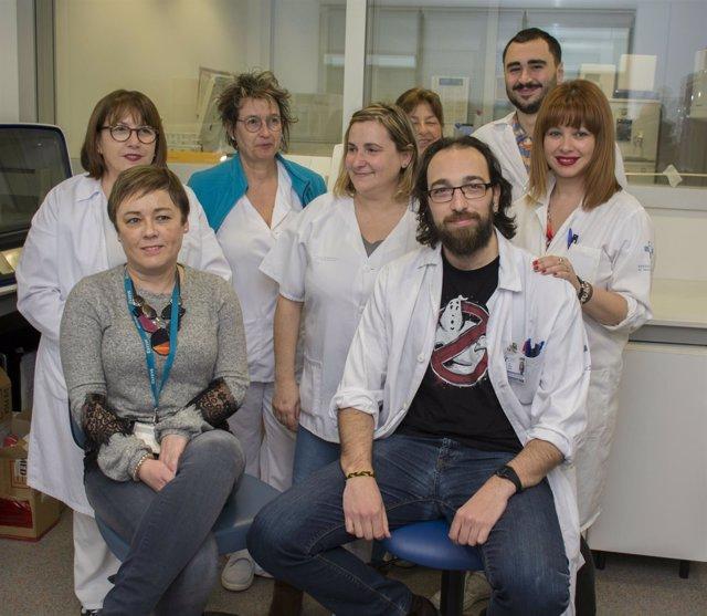 Equipo laboratorio HUCA