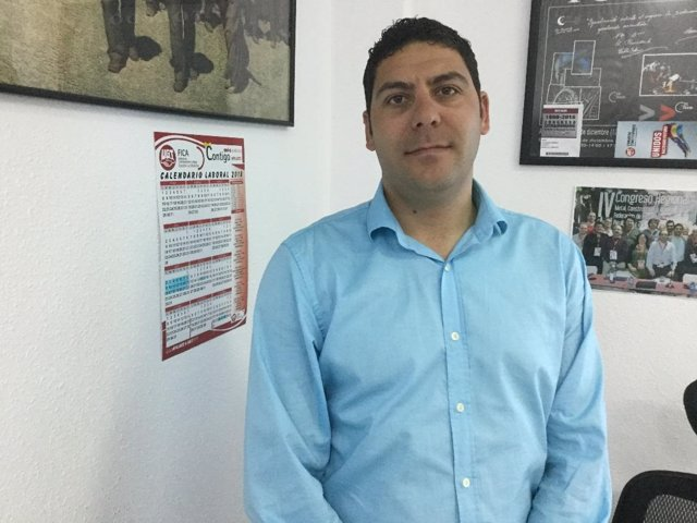 Raúl Alguacil, UGT