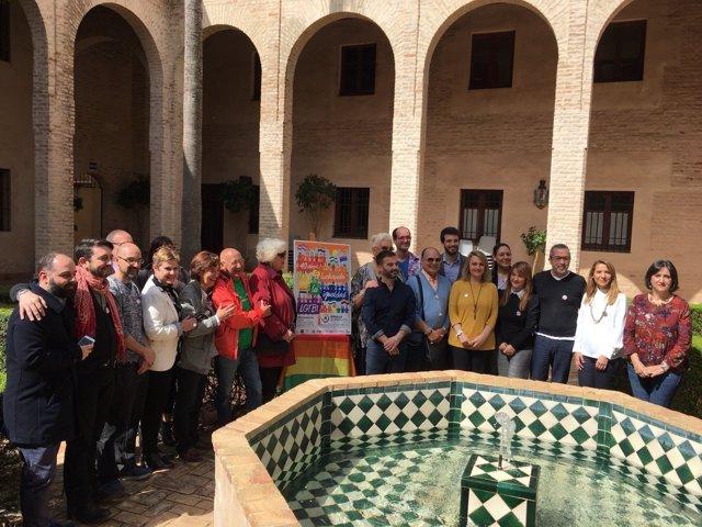 Presentación del cartel del Orgullo Lgtbi Andalucía 2018