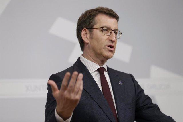 O Titular Do Goberno Galego, Alberto Núñez Feijóo, Comparecerá En Rolda De Prens