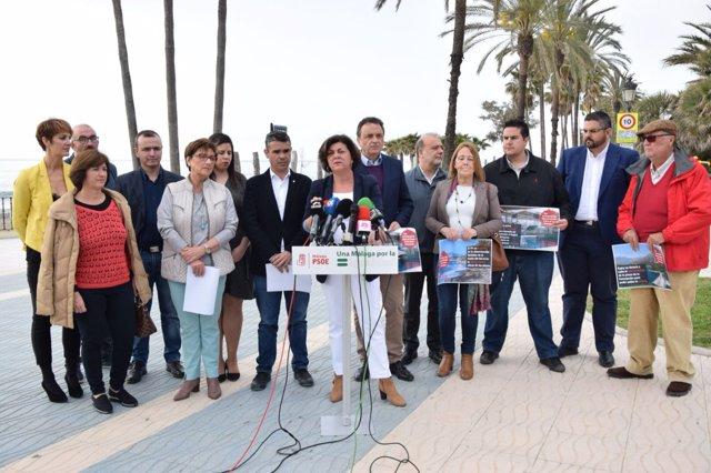 Fuensanta Lima rueda de prensa del PSOE
