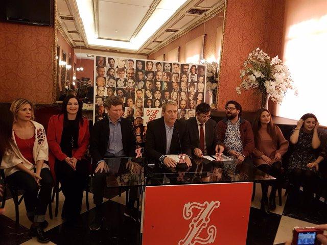 Teatro de la Zarzuela acoge 'Los elementos'
