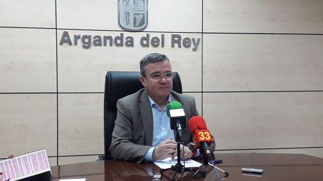 Alcalde de Arganda y presidente de la FMM, Guillermo Hita