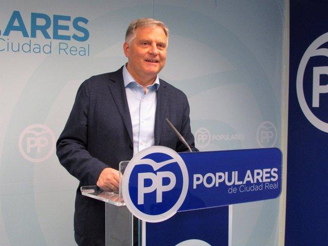 Gpp Clm (Fotografía Y Cortes De Voz) Rueda De Prensa De Francisco Cañizares En C