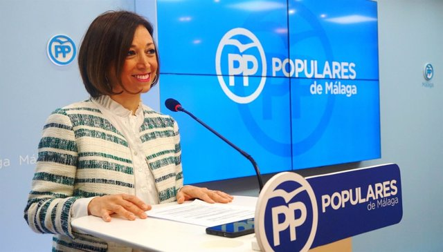 Patricia Navarro en rueda de prensa