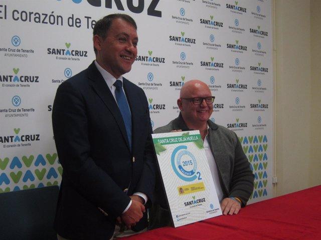 Bermúdez y Correa, con el certificado