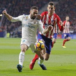 Carvajal (Real Madrid) Lucas (Atlético de Madrid)