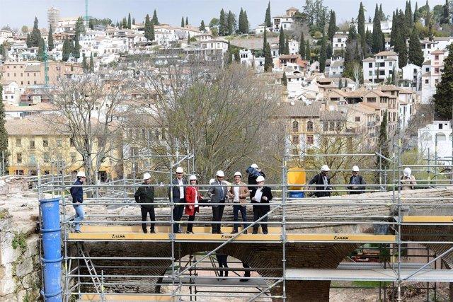 Visita a la intervención arqueológica en Romayla