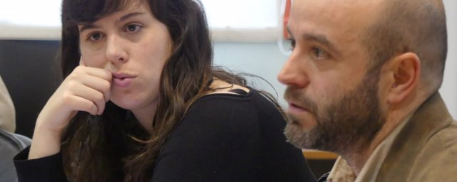 Paula Quinteiro y Luís Villares, en una foto de archivo de En Marea