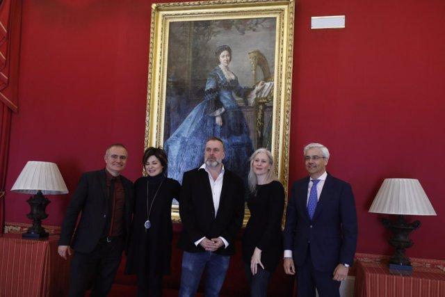 Presentación de la ópera Gloriana en el Teatro Real
