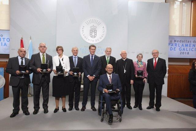 Entrega de las Medallas del Parlamento