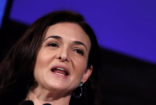 Sheryl Sandberg, jefa de operaciones Facebook