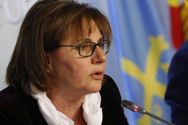 La consejera de Derechos y Servicios Sociales, Pilar Varela