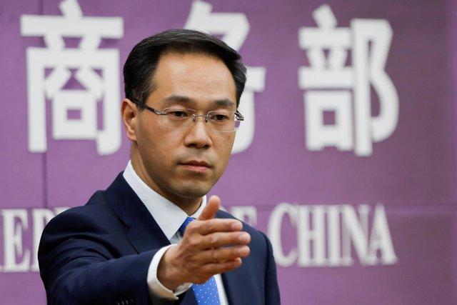 El portavoz del Ministerio de Comercio chino, Gao Feng