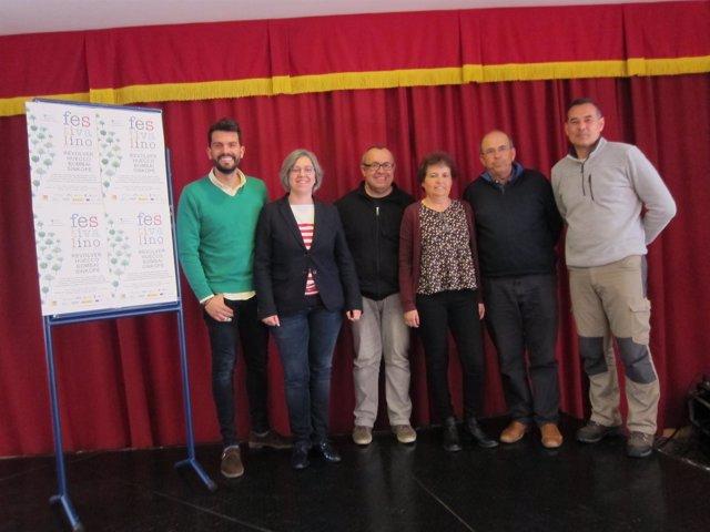 Presentación del XI Festivalino de Pescueza (Cáceres)