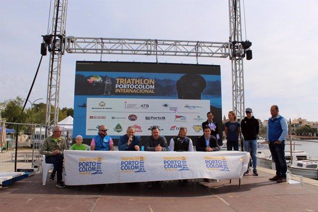 Triatlón Internacional de Portocolom