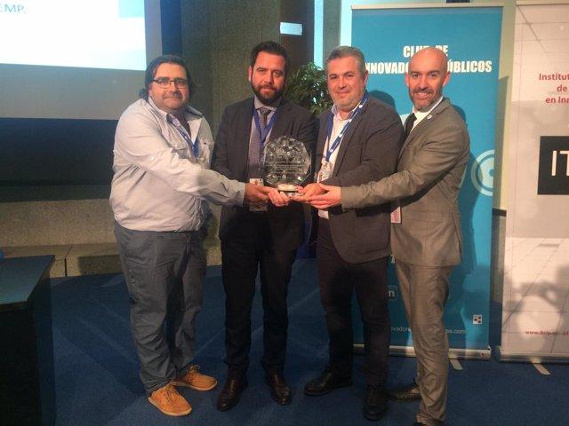 La Diputación de Cádiz galardonada con un premio CNIS