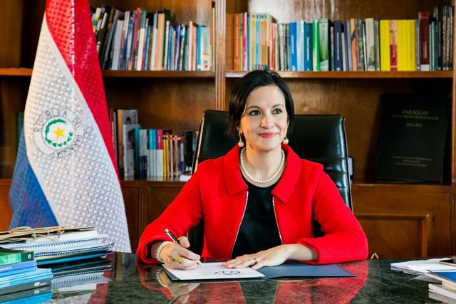 LEa Giménez, ministra de Hacienda de Paraguay
